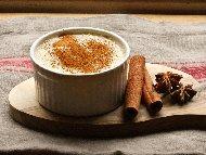 Рецепта Лесно и бързо мляко с грис и канела за десерт